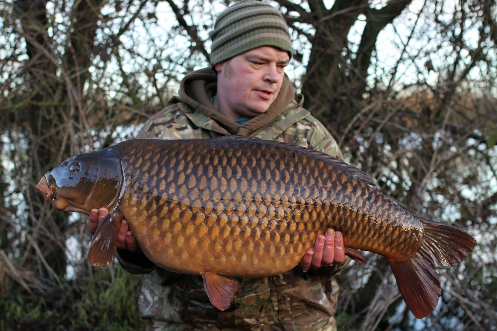 The other side of Ross's 39lb 2oz Farlows common