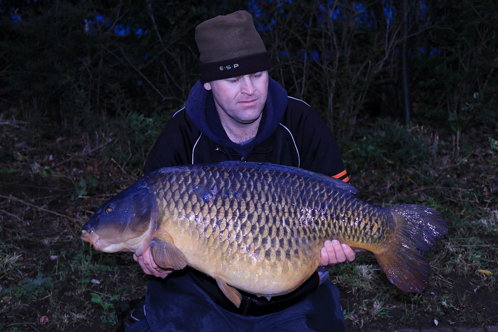 The other side of Damian's new pb
