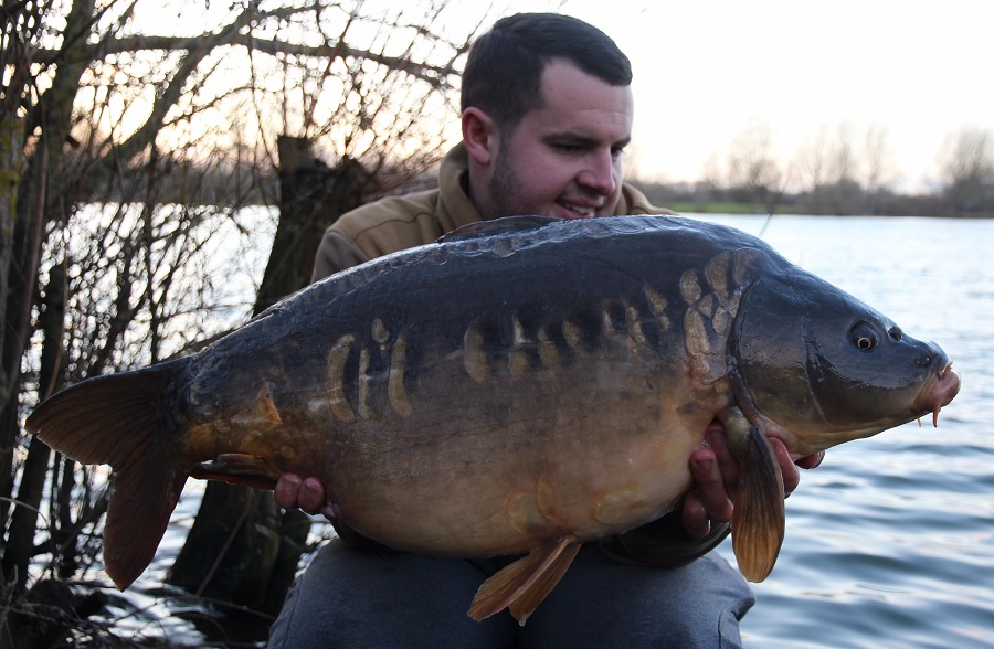 This 31-pounder was the pick from a hectic day