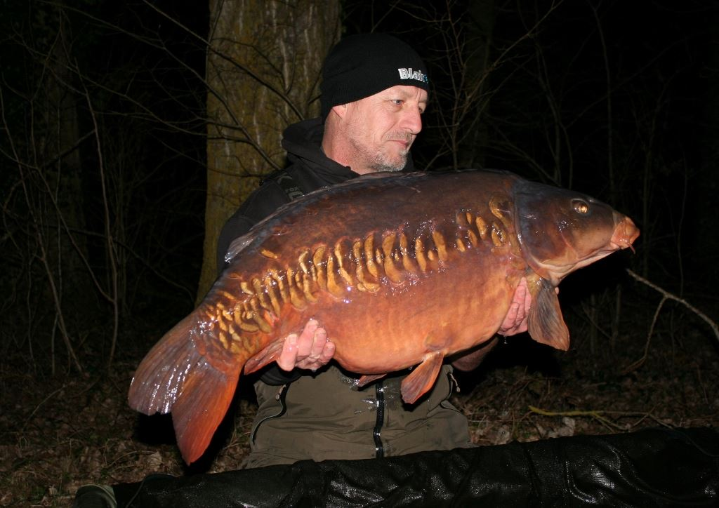 Wow! 48lb 7oz of winter gold for Zak