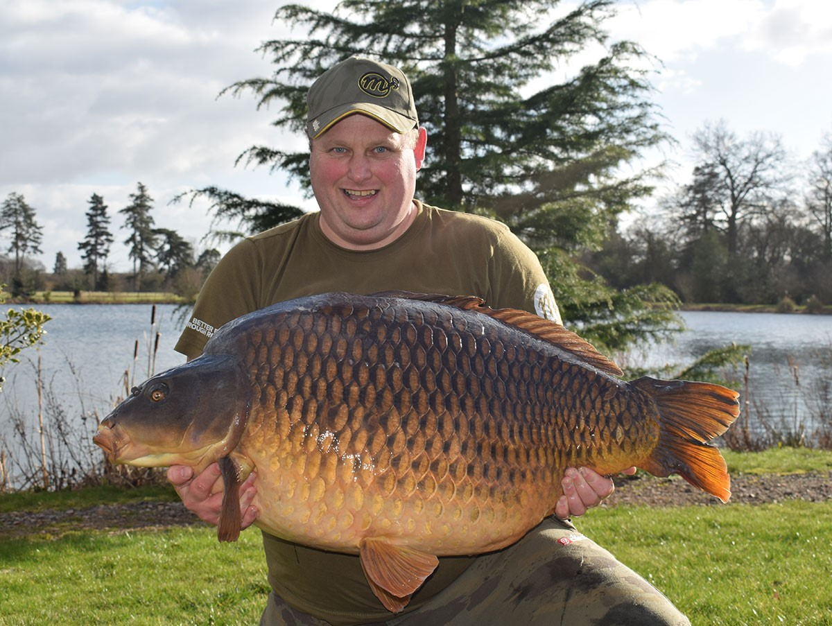 Tarka from RH Fisheries' Avenue at 63lb exactly