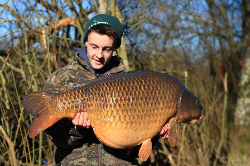 The New Forest Park is producing lots of big fish like this