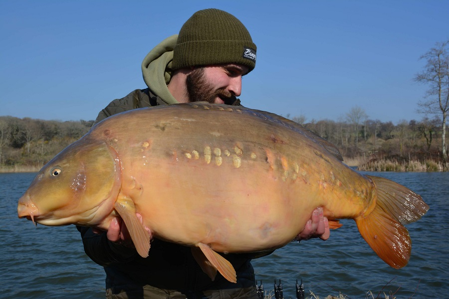 It's Cliff's third 40 from Emperor Lakes in Devon