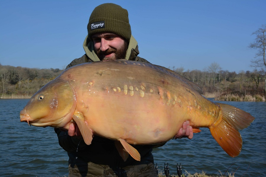 An hour after this fish, Cliff's mate Steve banked a 20 in the swim next door