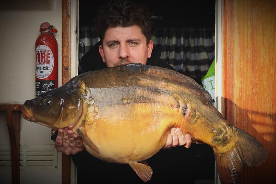 28lb of River Thames carp