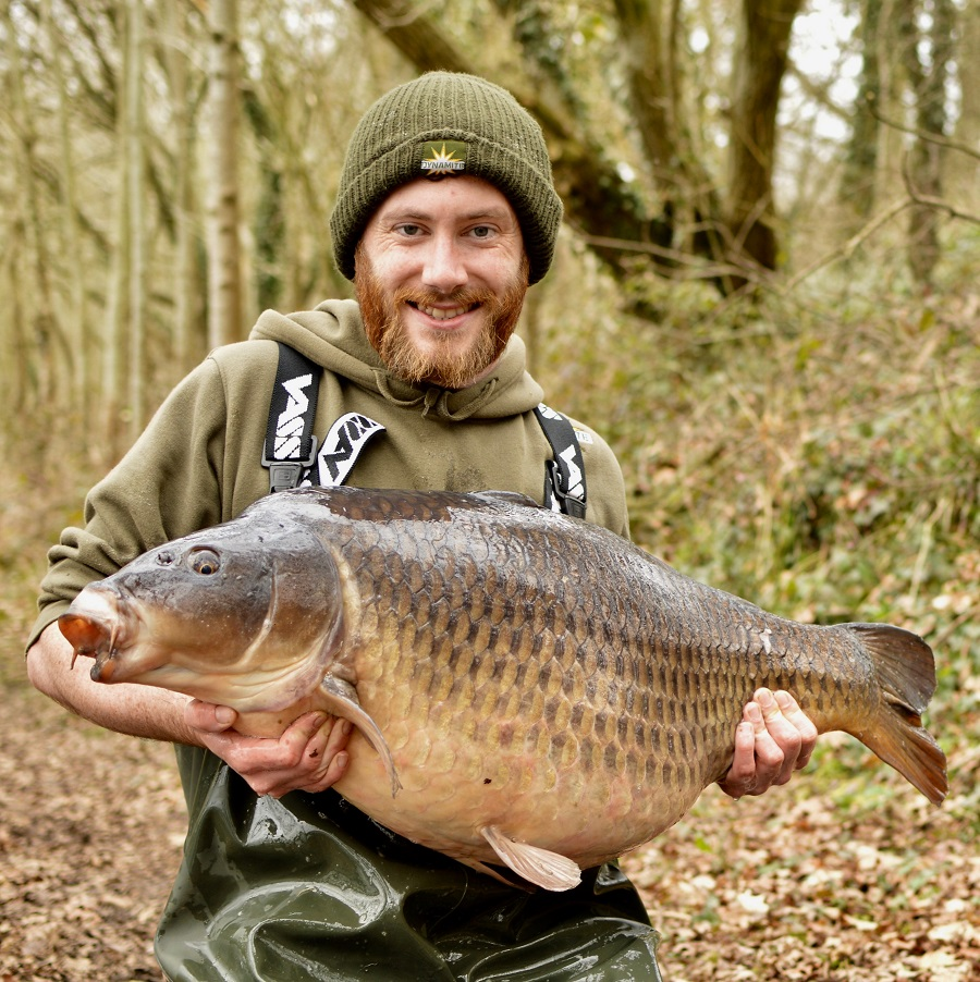This chunky common came in on a 12ft zig
