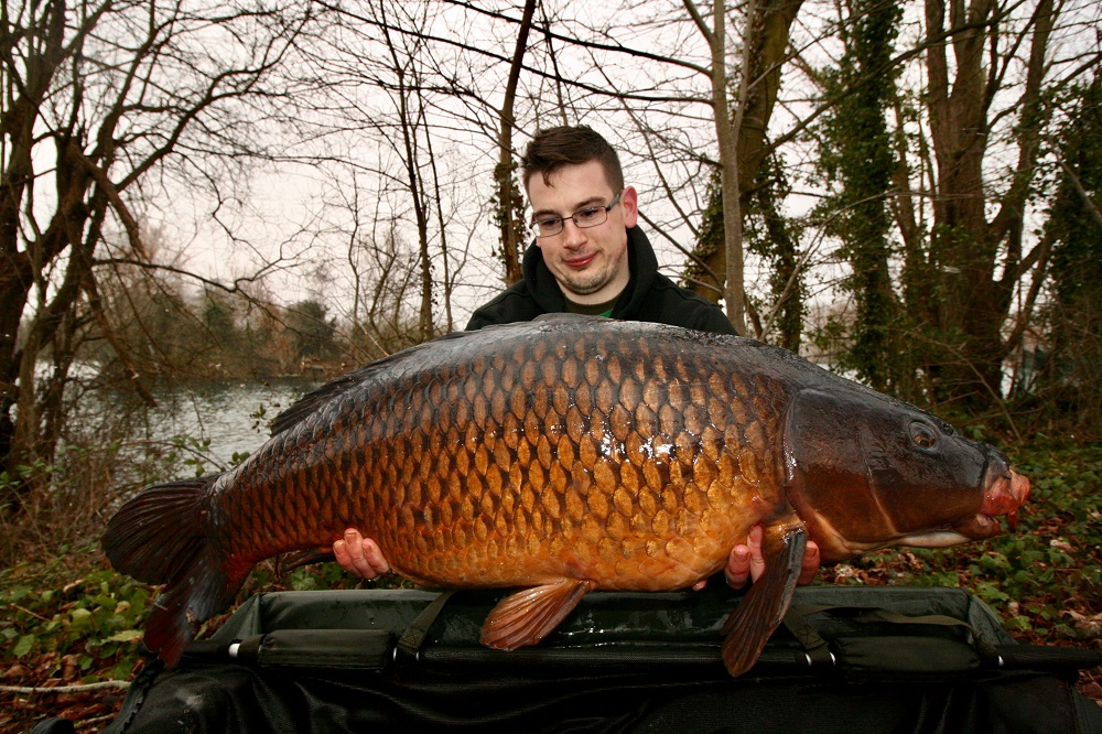 32lb 12oz of Oxfordshire day-ticket common