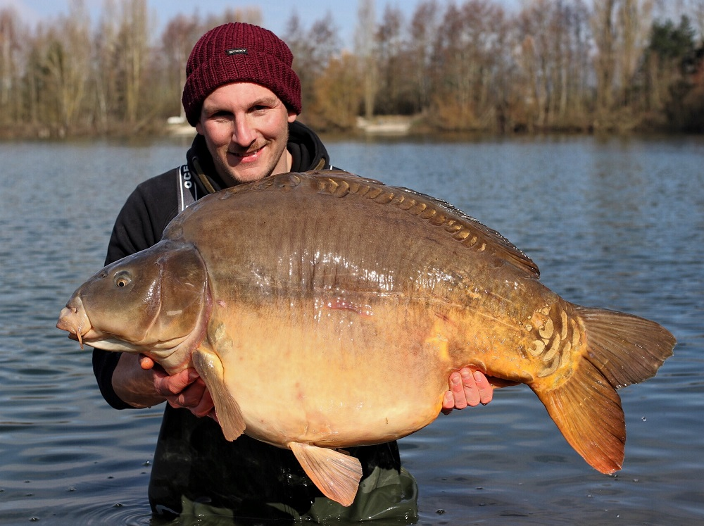 The biggest of the trip at 59lb 10oz