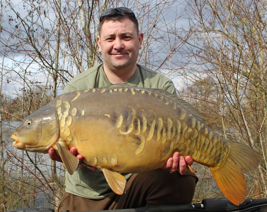 26lb of Linear Fisheries mirror