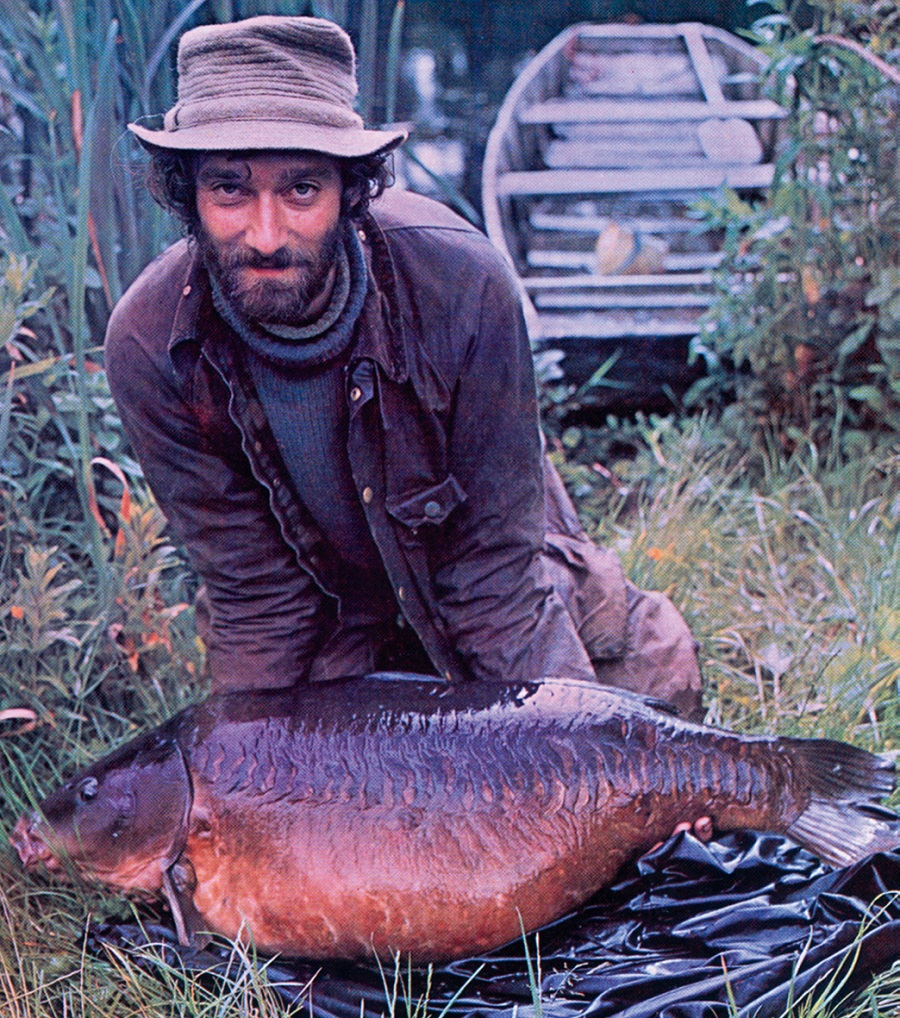 Chris with his Redmire 50