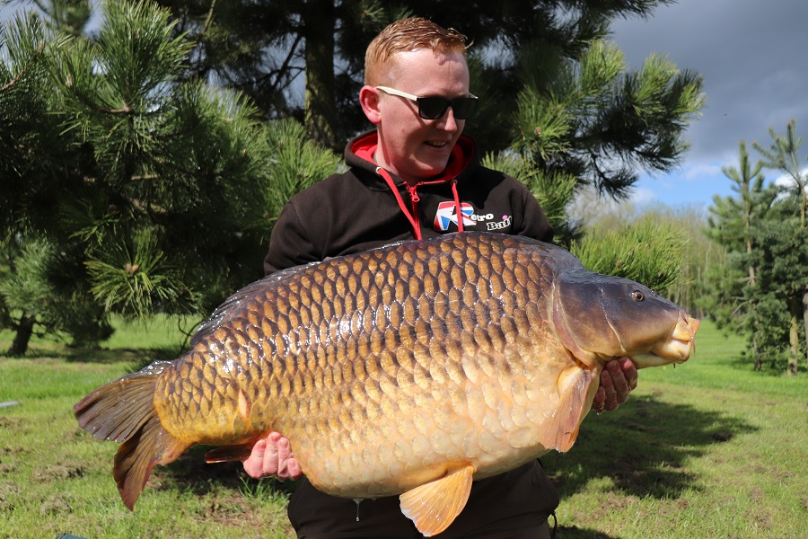 Tarka pulled the scales round to 61lb 10oz, but its true weight is unknown