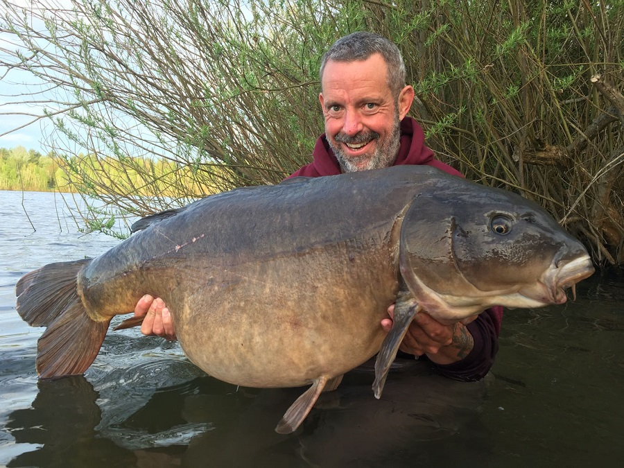 A hugely impressive fish at 53lb 8oz
