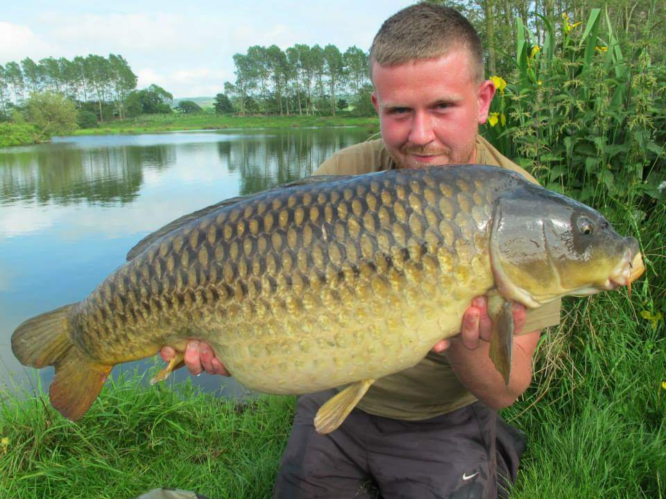 Scott first had the fish at 29lb 14oz...