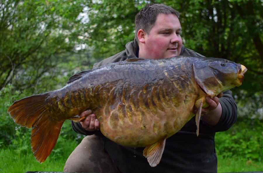 The big mirror is one of the most-wanted carp in the land