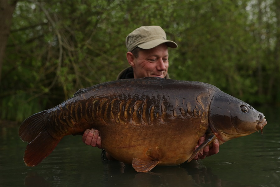 The one he wanted, at 47lb 4oz