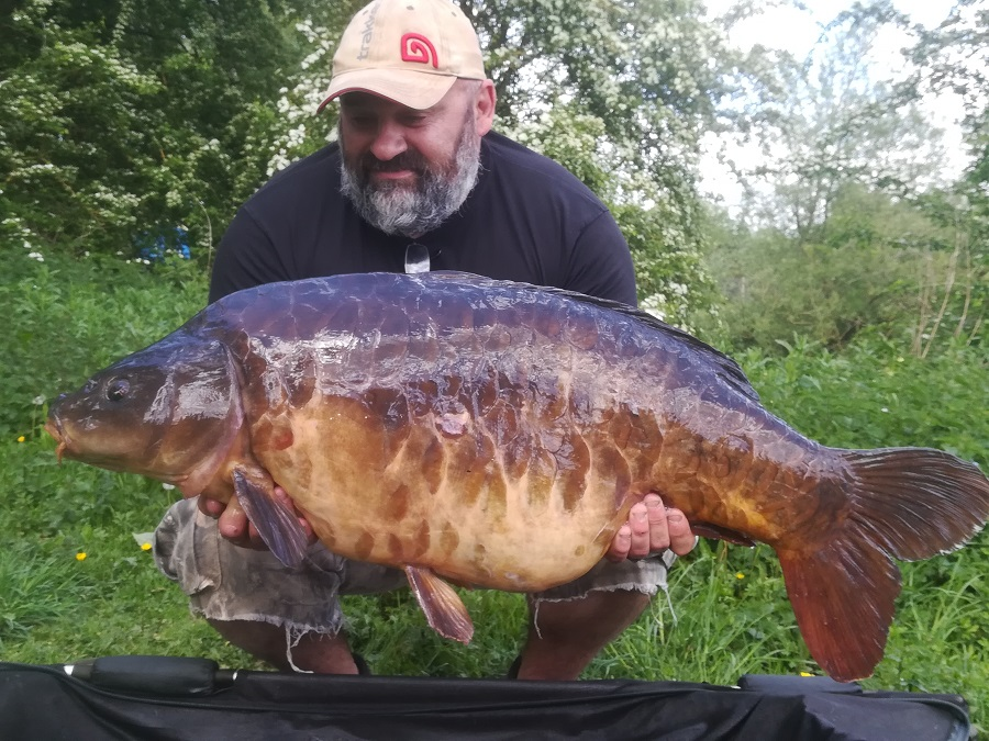 42lb 12oz of sought-after Linear Fisheries carp