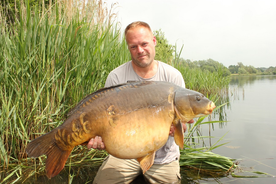 Biggest of the week went to Sascha Welsch at 55lb 12oz