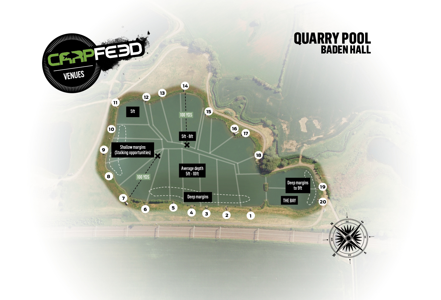 CLICK THE MAP FOR OUR FULL GUIDE TO QUARRY POOL