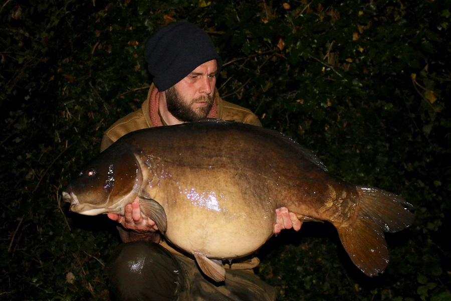 The biggest of the latest trip was Scar at 48lb 12oz
