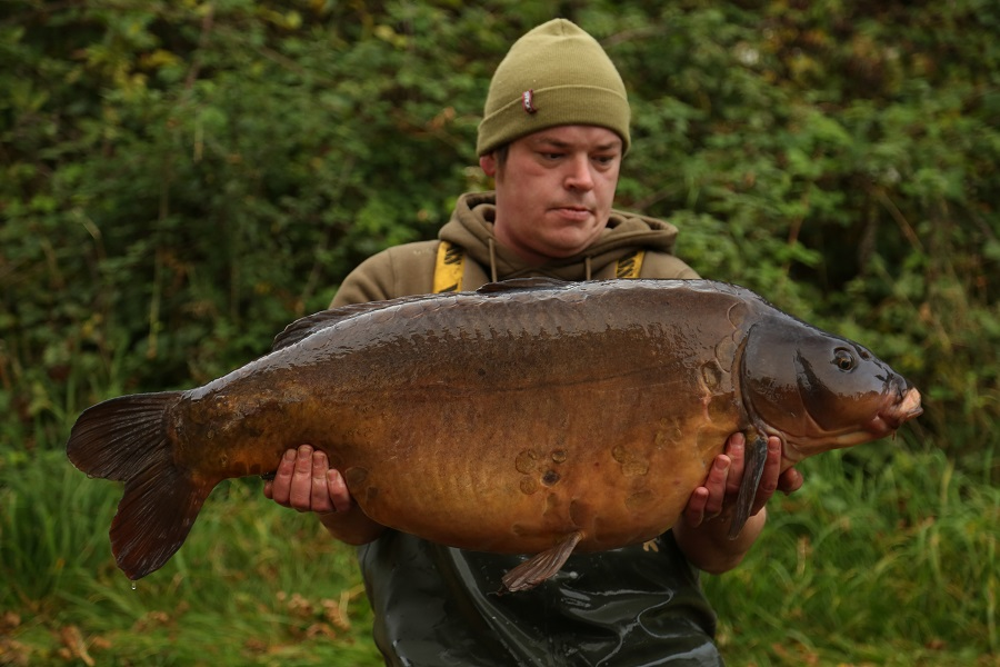 Bite Mark at 47lb 12oz in the arms of Ross Hodgetts