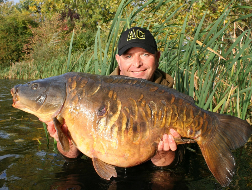 Chris Lowe with the Small Plated in 2013 at 43lb 3oz