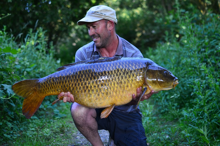 Moving was worth the effort for this 40lb 10oz common