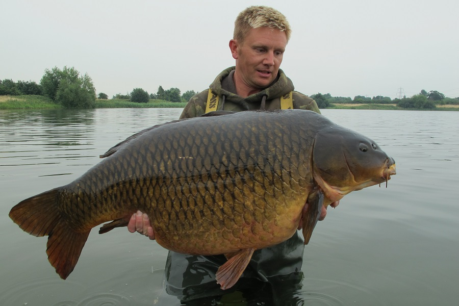 Tutti was stocked at about 41lb from Pendle View