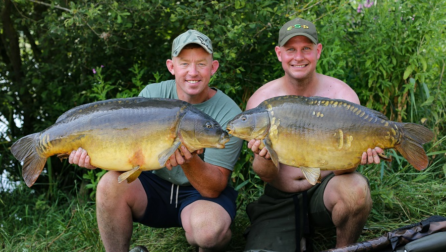 Another pair of fish for Mark and Kev