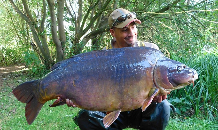 Jon travels regularly from Mid Wales to fish the complex