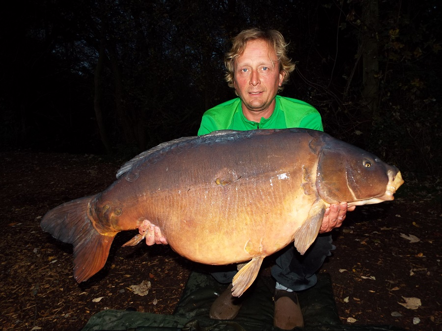 Paul Talbot with the Z at 52lb 12oz