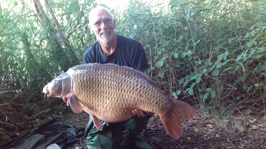 He got it this time! Charlie's Mate at 51lb 15oz