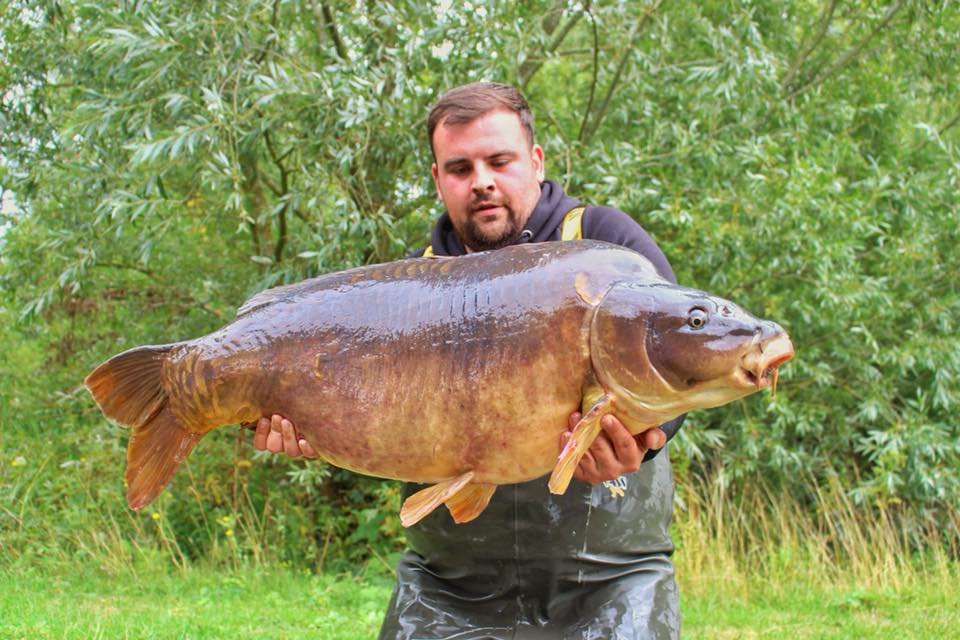Dave weighed in at 53lb 10oz