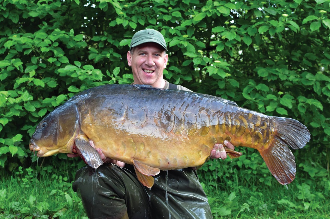George with Wasing's Parrot at 62lb