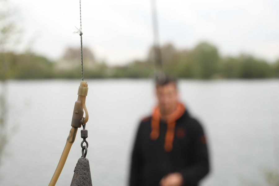 Replacing the tail rubber with a short silicone sleeve will help the lead to discharge on the take, helping you land more fish when zigging.