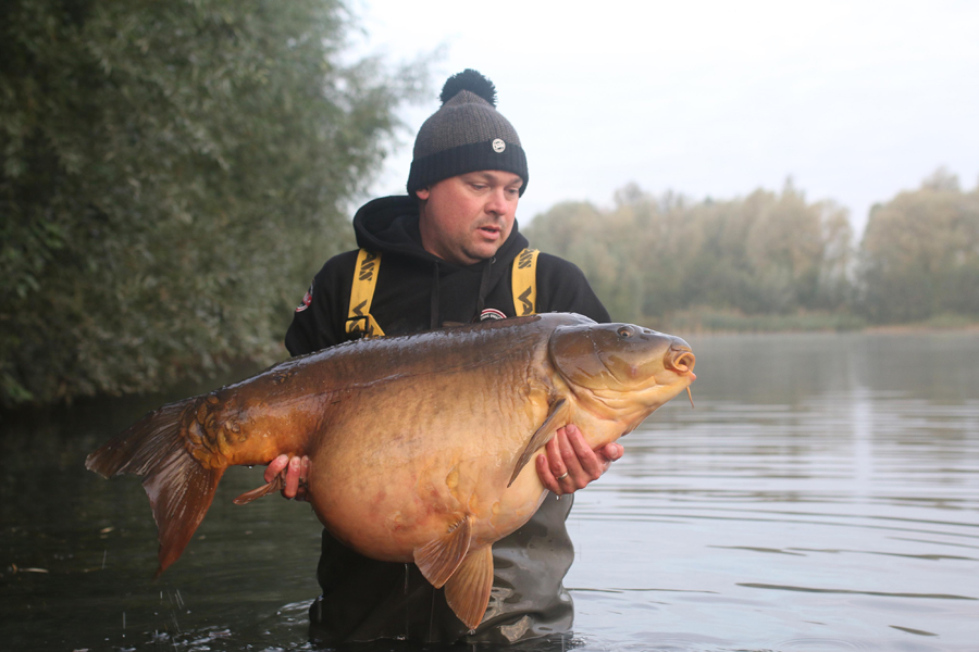 The fish's sheer size is evident here!
