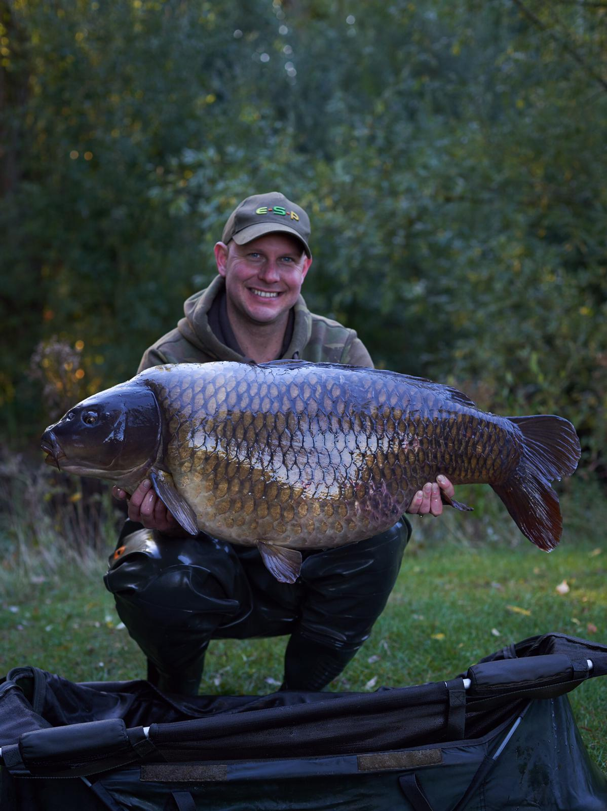 46lb exactly. A new pb common for Kev