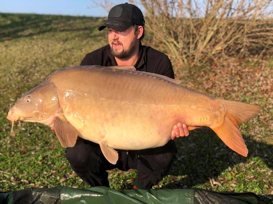 This 69-pounder came just two hours before