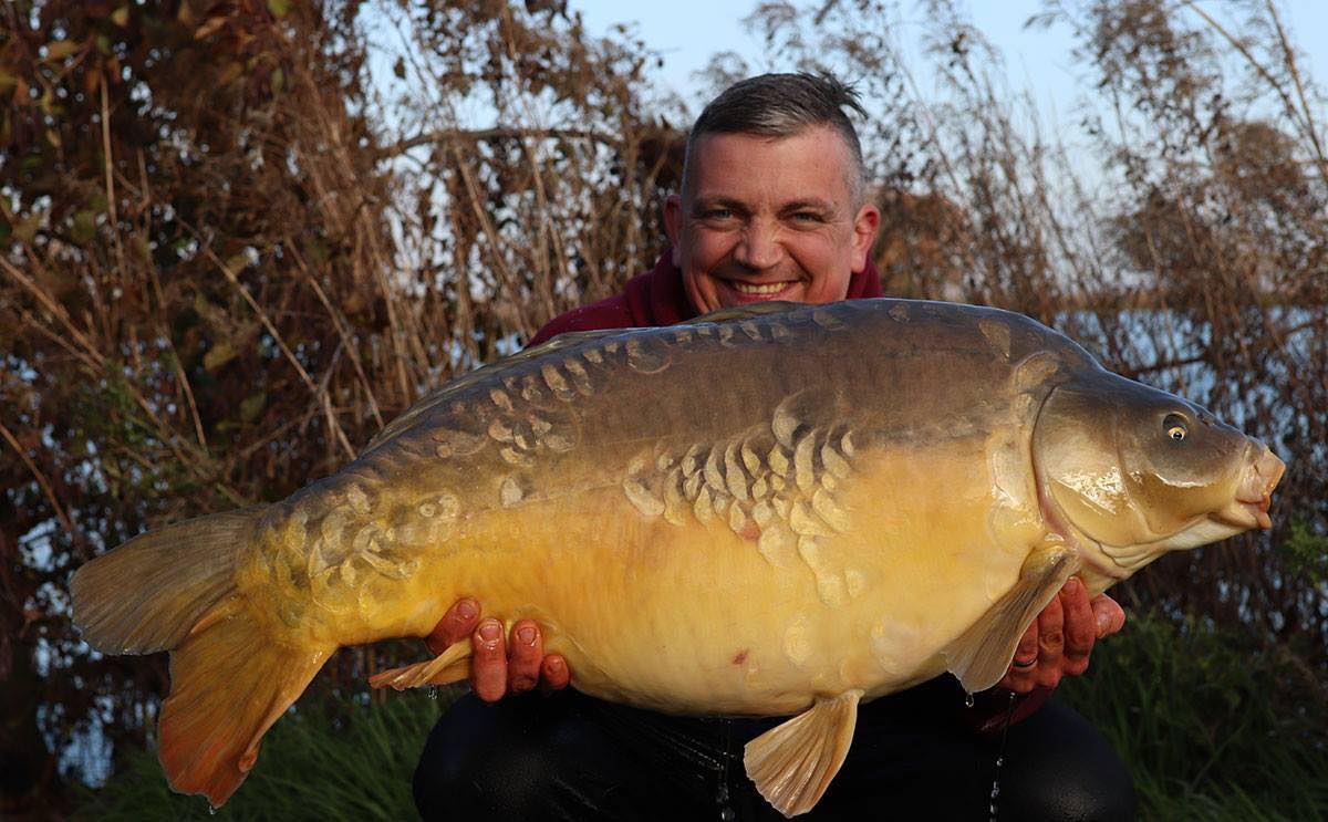Known as Bella, this Monument Two fish went 47lb 2oz