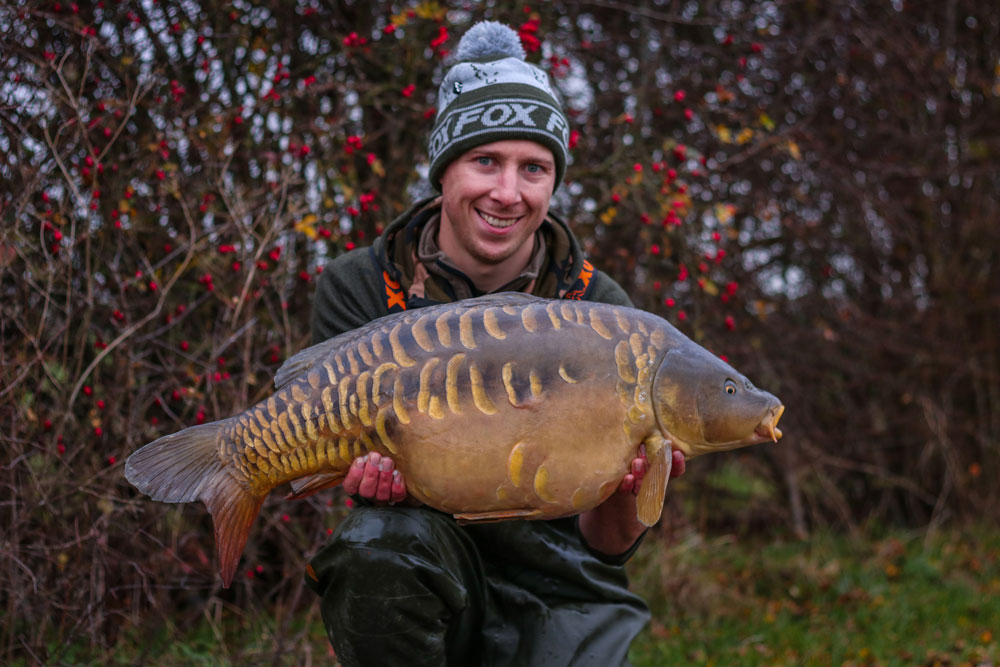 Pretty and scaly, this one weighed in at 28lb 8oz