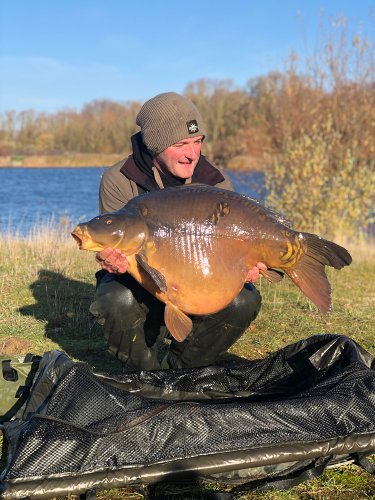 Rob banked himself a pb with this 49lb 7oz mirror