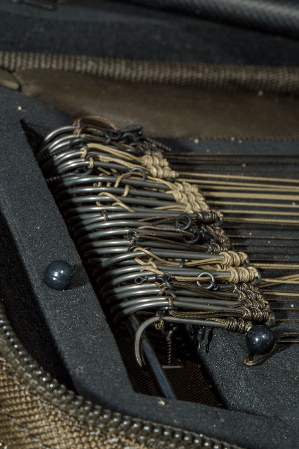 Alan's slip-D rigs. 'If you're not driving, you're tying…'