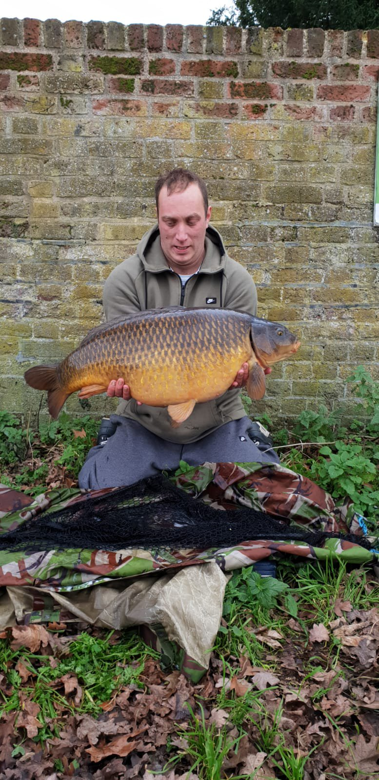 This 31lb 2oz common came first
