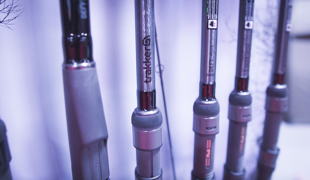 Trakker's new range of rods looked very impressive
