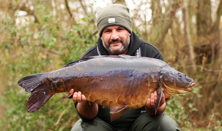 A classic Bluebell carp for Craig