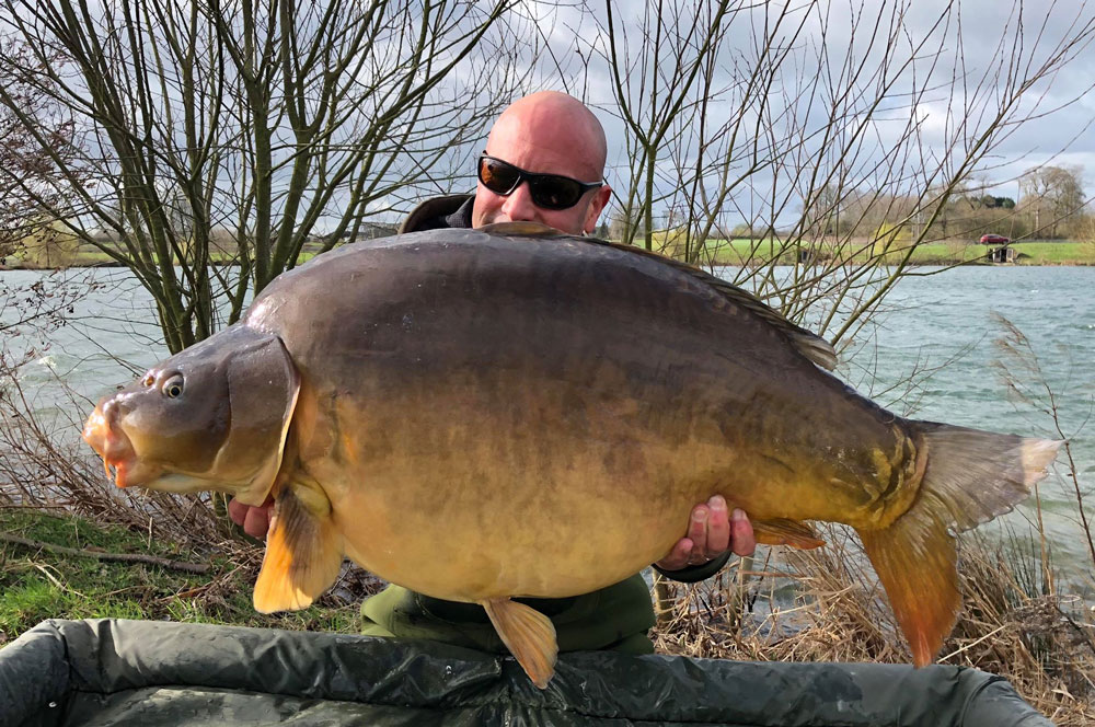This mirror topped 50lb for the first time at 51lb 3oz