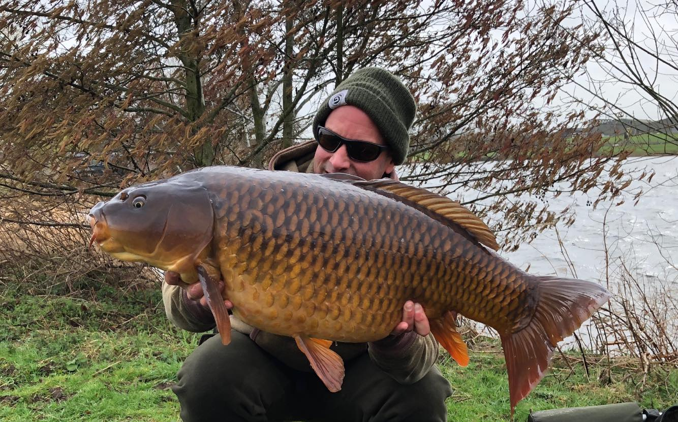 Bobby had this 34lb common from the same swim the week before…