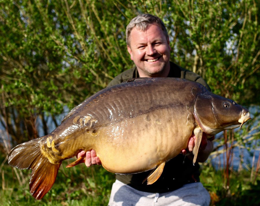 The fish, known as Pitchers after Mark Pitchers, weighed 51lb 8oz