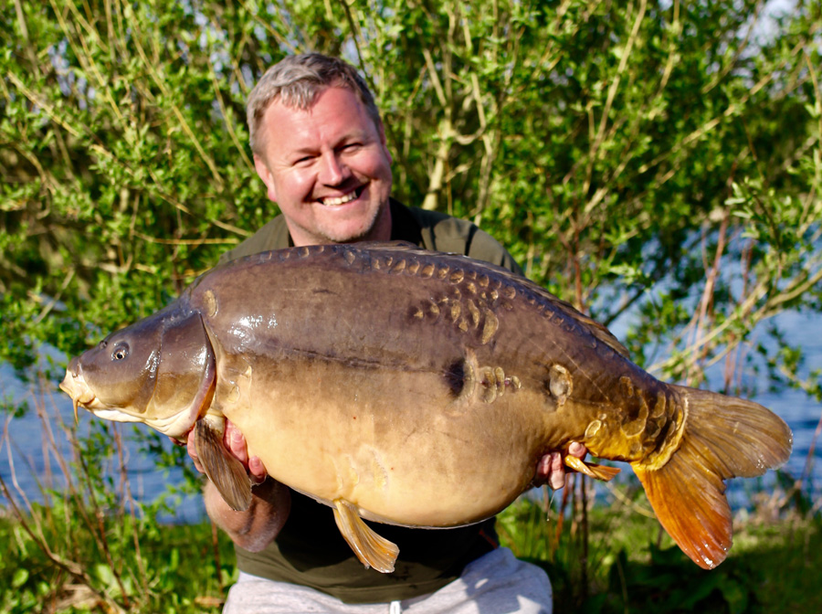 Phil was all smiles after Chilly netted his new pb