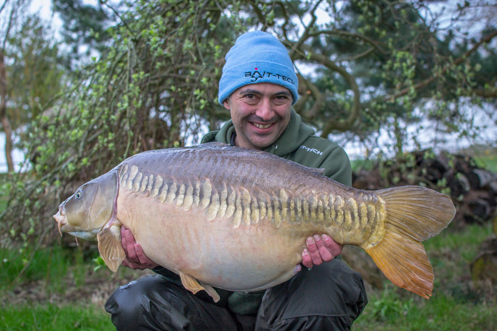 The Zip Linear at 39lb exactly
