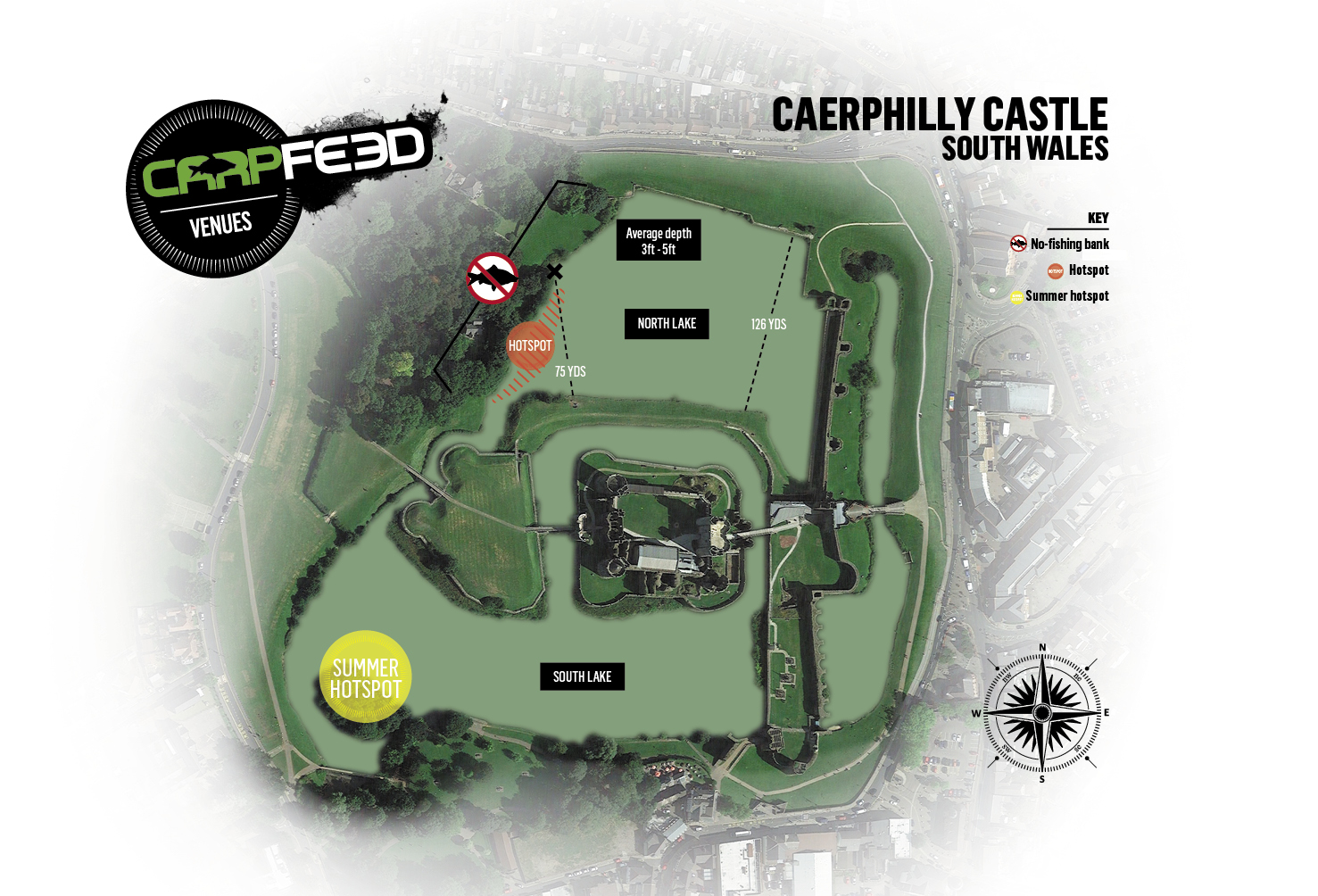 CLICK THE MAP FOR OUR FULL GUIDE TO CAERPHILLY CASTLE